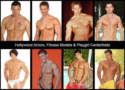 male models naked
